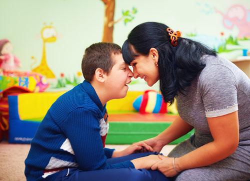 camp de relâche pour enfants handicapés